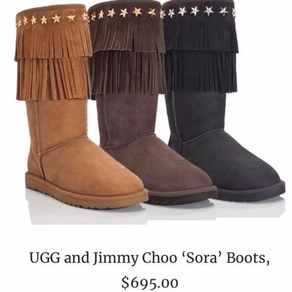 84a78f267b0 Jimmy Choo Shoes - JIMMY CHOO UGG Sora Boots